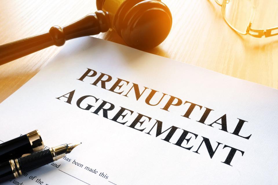 prenuptial agreement