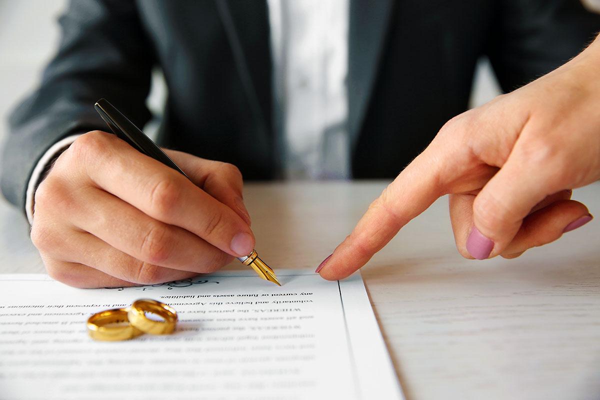 Prenuptial agreement RSH